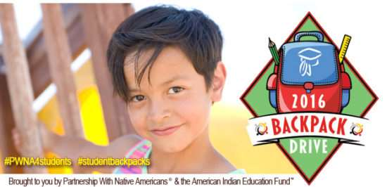 Charity Helps Native Students Succeed with Much Needed School Supplies